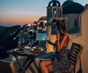adventure, Greece, and oia image