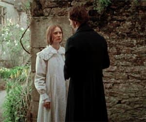 charlotte bronte, jane eyre, and True Romance image