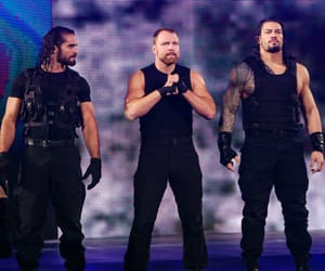 dean ambrose, seth rollins, and roman reigns image