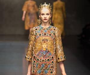 Dolce & Gabbana, fall 2013, and fashion image
