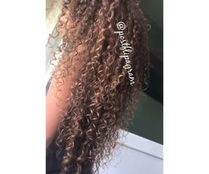 curly, hair curly, and 😻 image