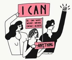 feminism, girl power, and women image