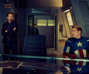 assemble, Avengers, and shield image