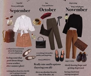 autumn, fashion, and november image