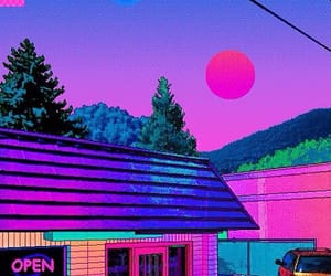 aesthetic, pixel, and vaporwave image