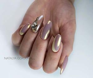 chrome, nail art, and nails image