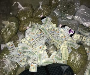 money, weed, and drugs image