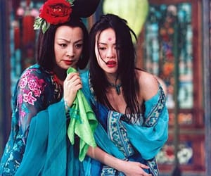 house of flying daggers, zhang ziyi, and mei image
