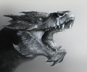 art, dragon, and smaug image