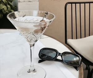 cocktail, lovely, and sunglasses image