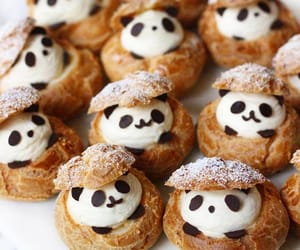food, panda, and sweet image