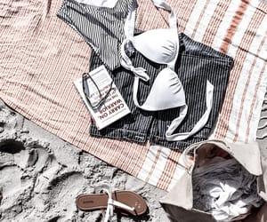 bathingsuit, beach, and clothes image