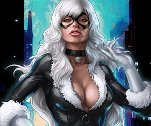 black cat and Marvel image