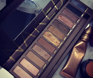 eye shadows, make up, and golden image