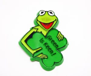 etsy, kermit the frog, and st patricks day image
