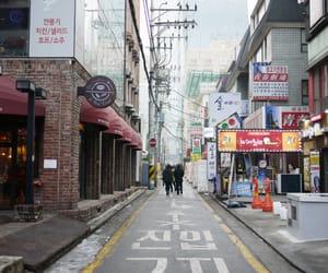 seoul, streets, and korea image