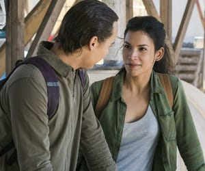 fear the walking dead, nick clark, and luciana galvez image
