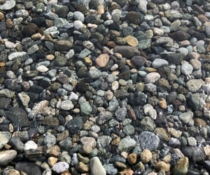 grey, water, and piedras image