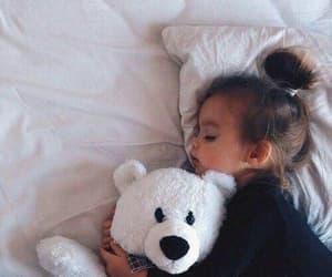 baby, cute, and sleep image