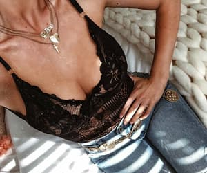 accessories, fashion, and lace image