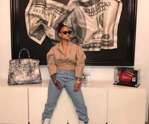 rihanna, money, and riri image