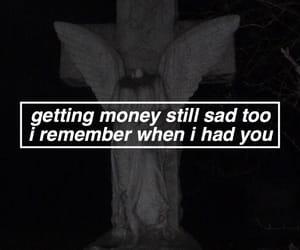 money, tumblr, and lil peep image