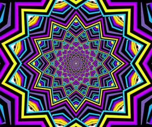 colors, gif, and illusion image