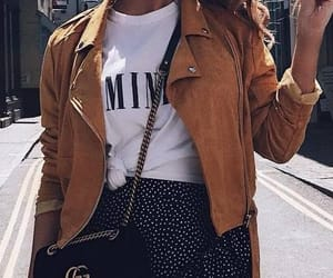 fashion, outfit, and jacket image