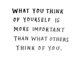 quotes, yourself, and love image