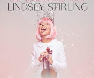 new, pink, and lindsey stirling image