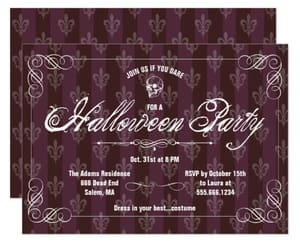 gothic, invitation, and Halloween image
