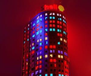 capitalism, neon, and the future image