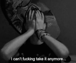 sad, depressed, and depression image