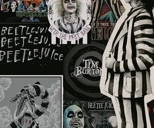 beetle juice, tim burton, and wallpapers image
