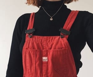 red, aesthetic, and clothes image