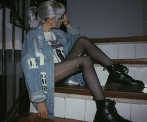 80s, dark, and fashion image