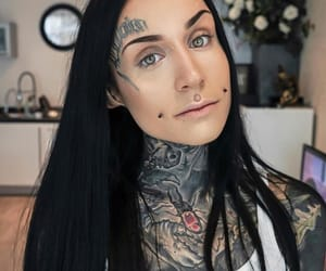 beauty, inked, and monami frost image