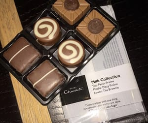 milk chocolate, hotel chocolat, and pecan praline image