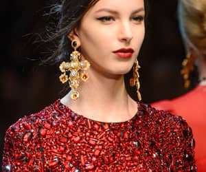 Dolce & Gabbana, runway show, and fashion image