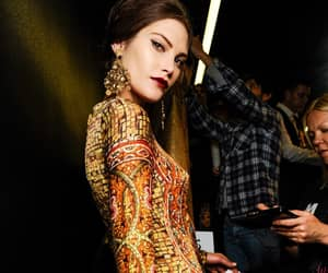 backstage, Dolce & Gabbana, and runway show image
