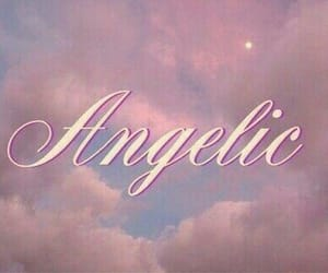 angelic, pink, and aesthetic image