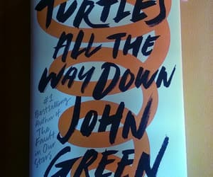 book, bookmark, and john green image