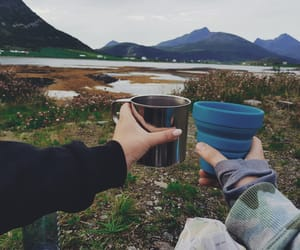 backpacking, camping, and mountains image