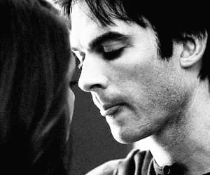 couple, gif, and the vampire diaries image