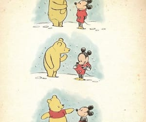 mickey, mickeymouse, and pooh image