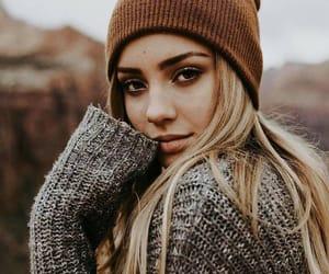 girl, fashion, and autumn image