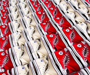 converse, red, and display image