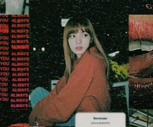 lisa, blackpink, and aesthetic image