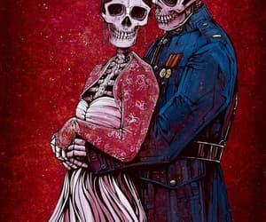 calaveras, parejas, and huesos image