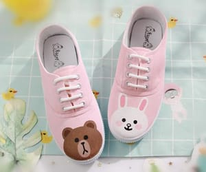 shoes, cute, and line friends image